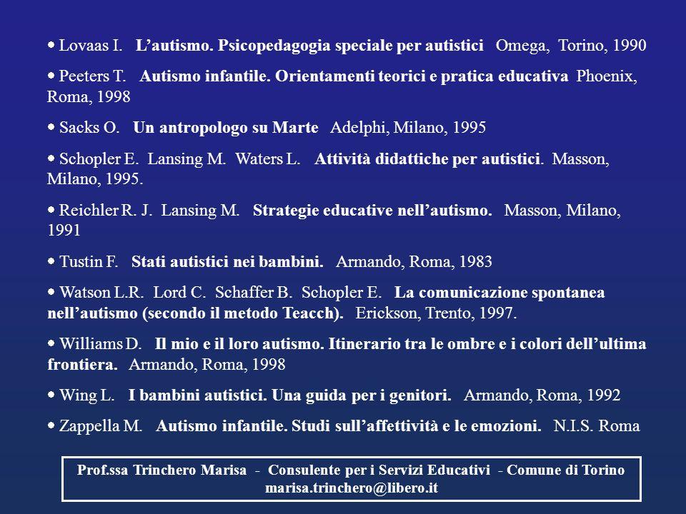 Sacks O. Un antropologo su Marte Adelphi, Milano, 1995