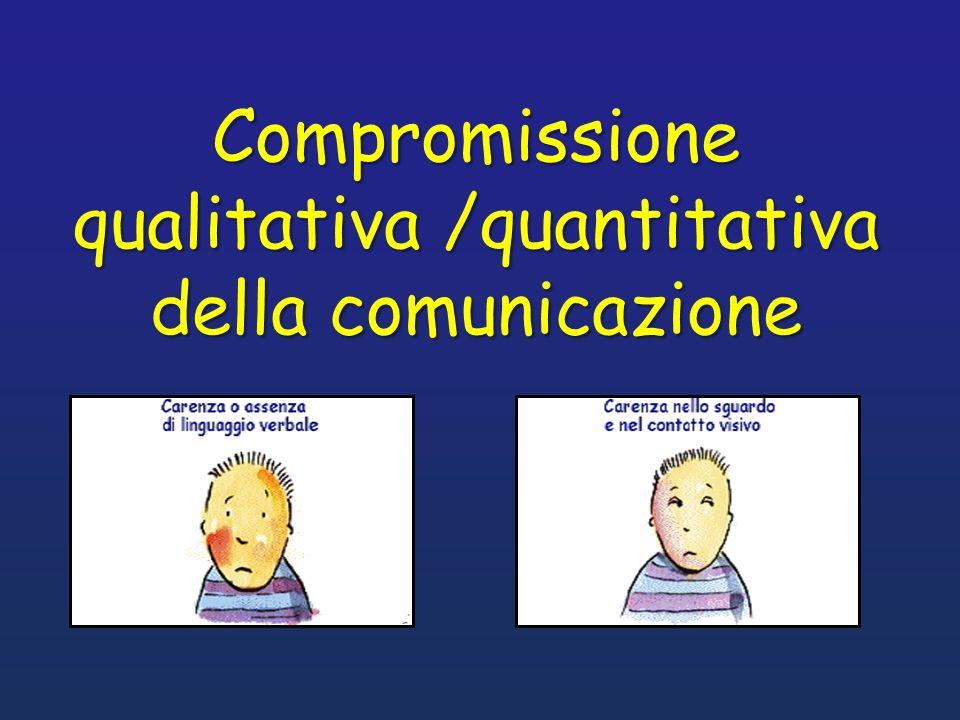 Compromissione qualitativa /quantitativa
