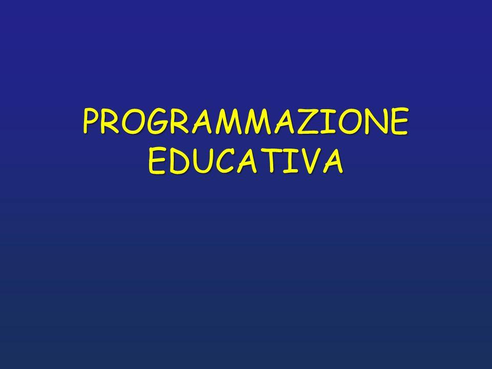 PROGRAMMAZIONE EDUCATIVA