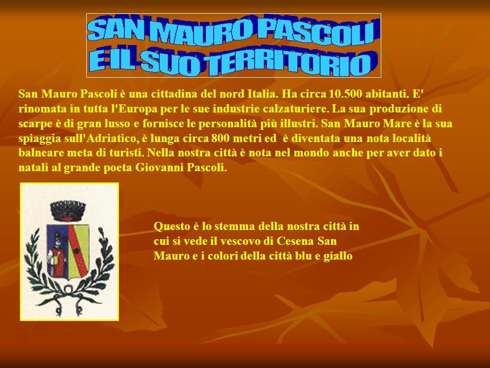 San Mauro Pascoli è una cittadina del nord Italia. Ha circa 10