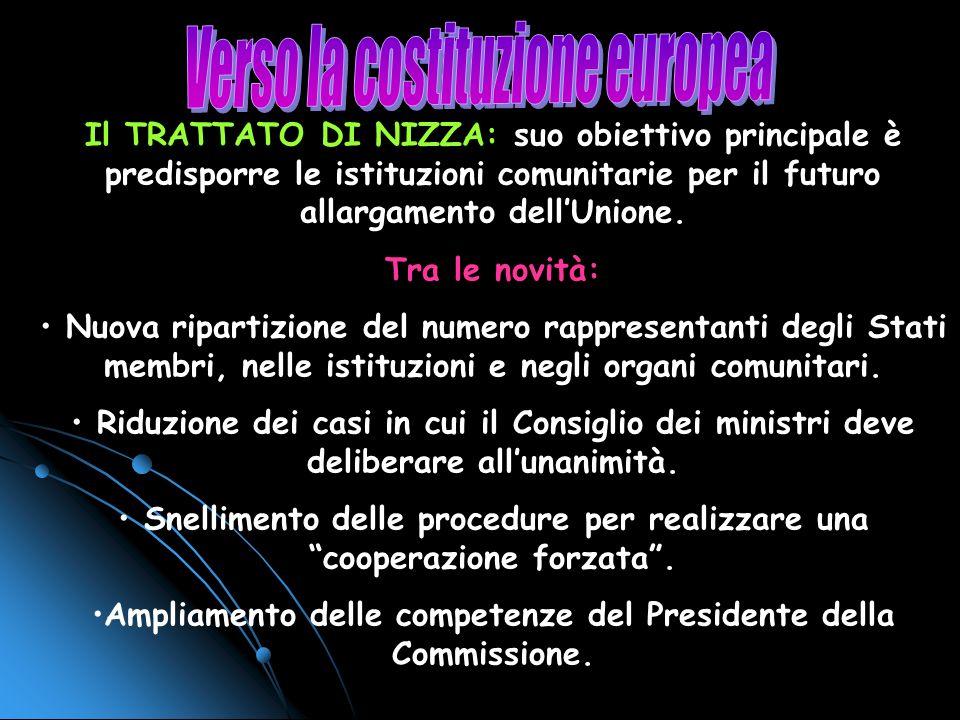 Verso la costituzione europea