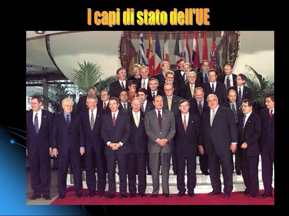 I capi di stato dell UE