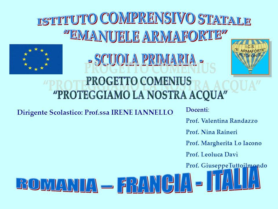 ROMANIA – FRANCIA - ITALIA