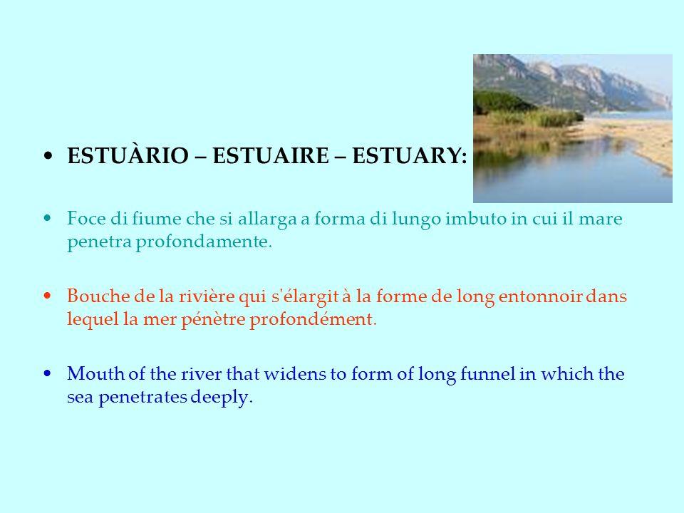 ESTUÀRIO – ESTUAIRE – ESTUARY: