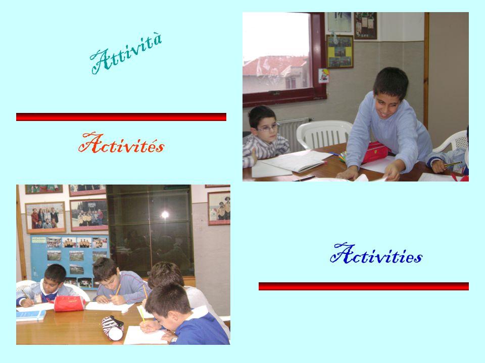 Attività Activités Activities