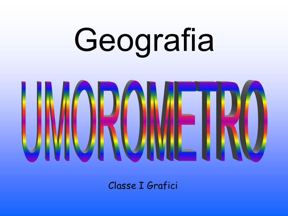 Geografia UMOROMETRO Classe I Grafici