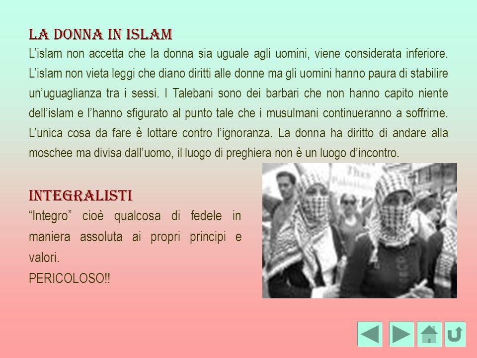 La donna in islam Integralisti