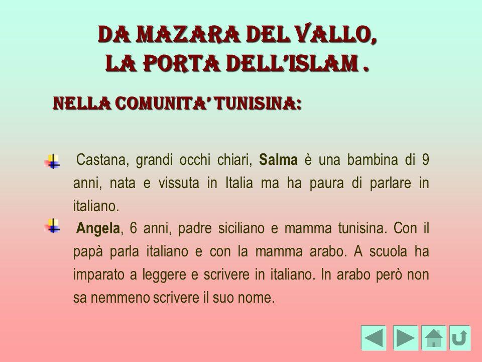 NELLA COMUNITA' TUNISINA: