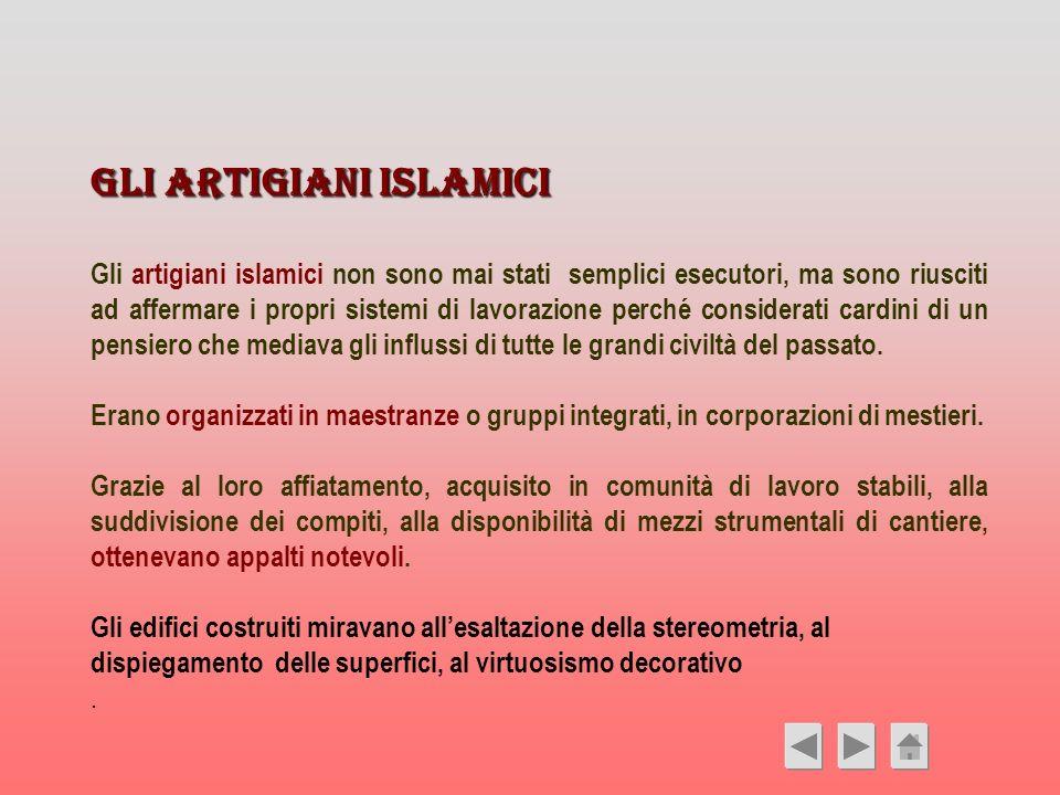 Gli artigiani islamici