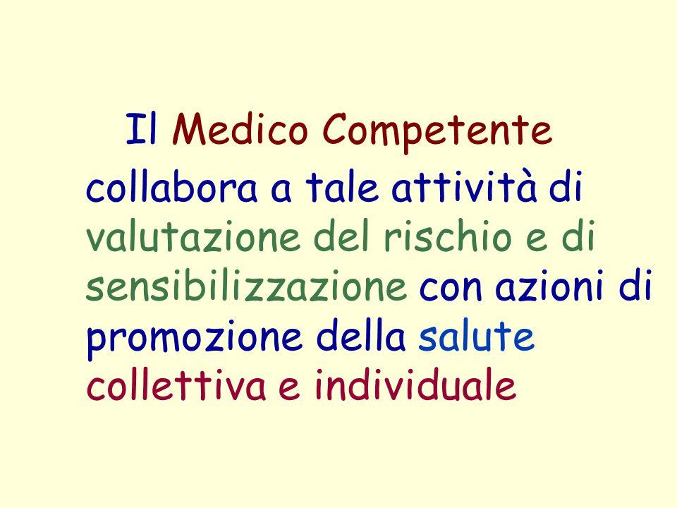 Il Medico Competente