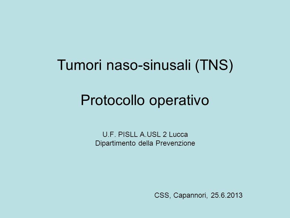 Tumori naso-sinusali (TNS)