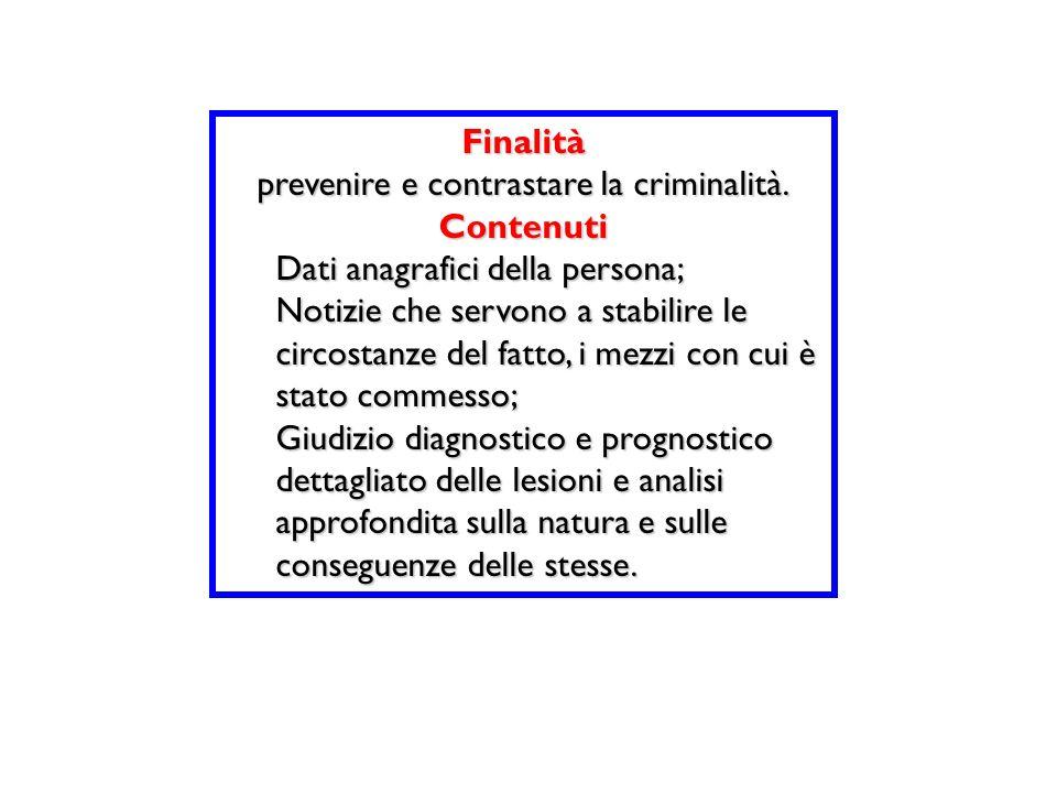 prevenire e contrastare la criminalità.