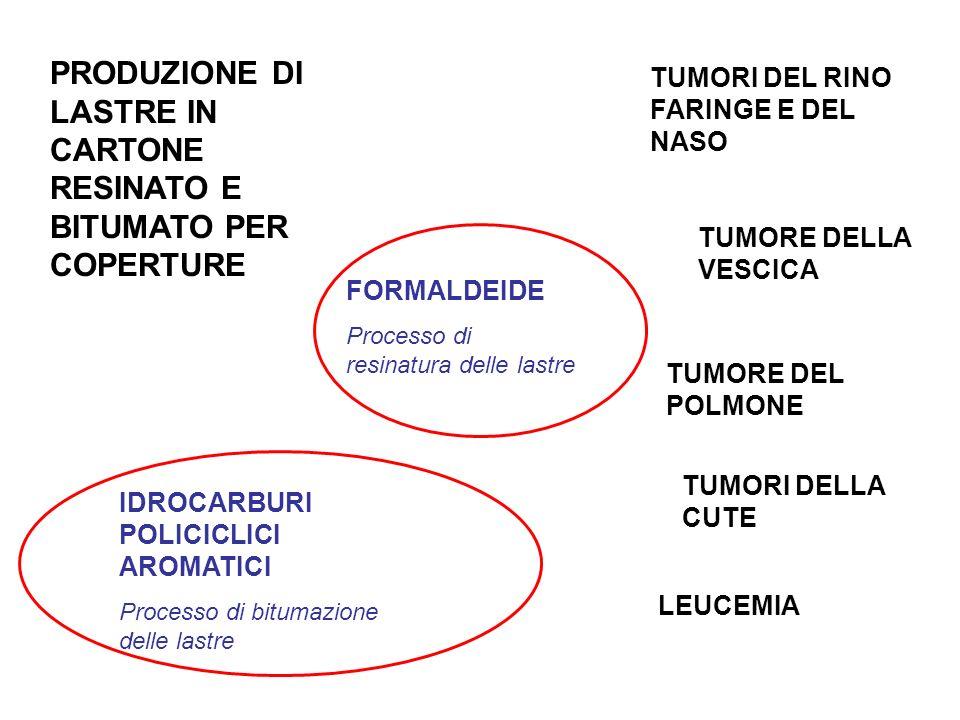 PRODUZIONE DI LASTRE IN CARTONE RESINATO E BITUMATO PER COPERTURE