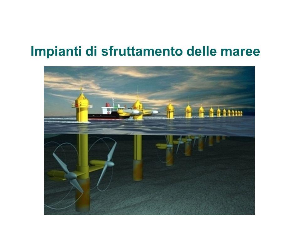 Impianti di sfruttamento delle maree