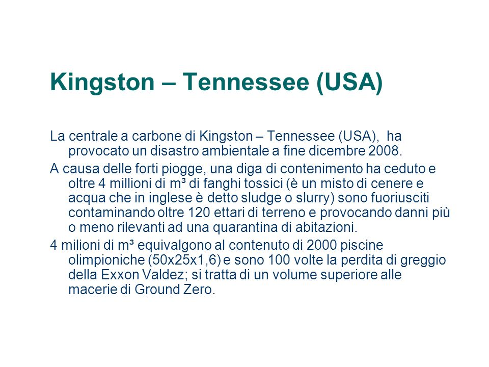 Kingston – Tennessee (USA)