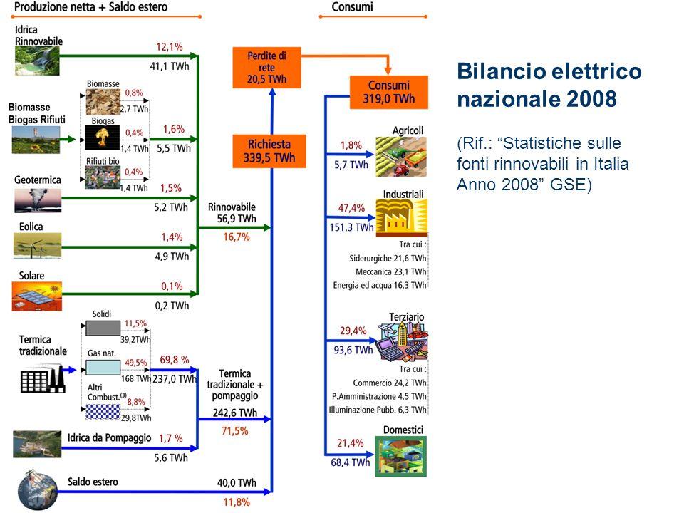 Bilancio elettrico nazionale 2008