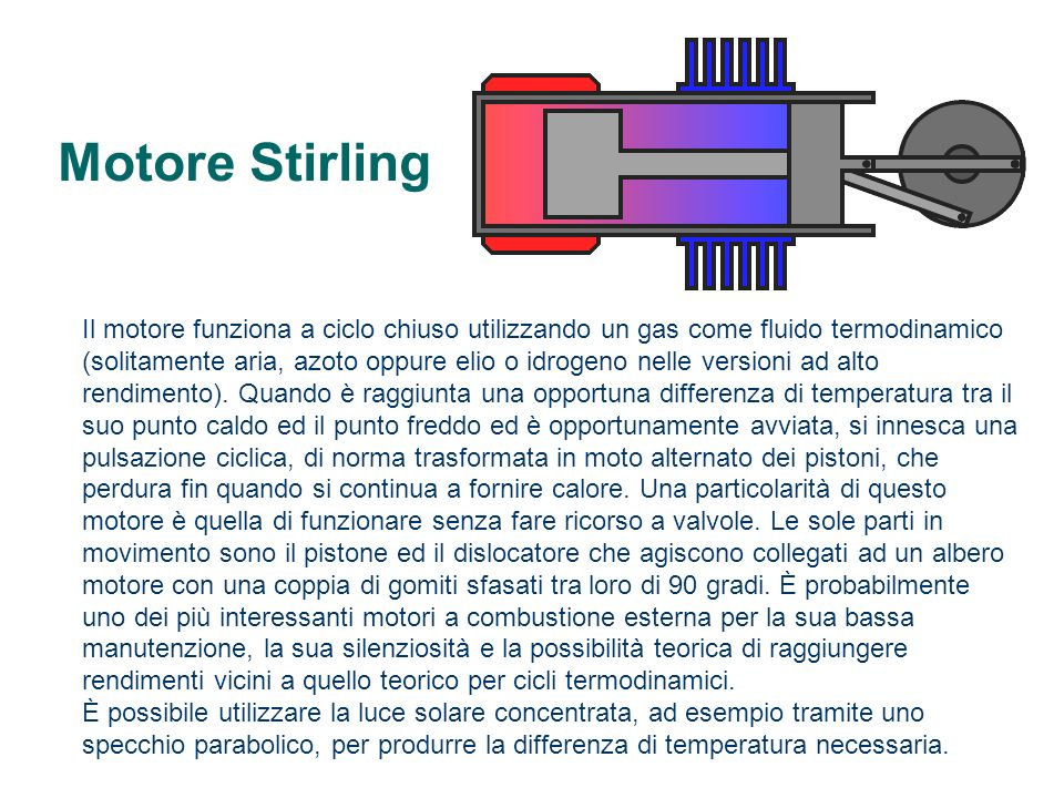 Motore Stirling
