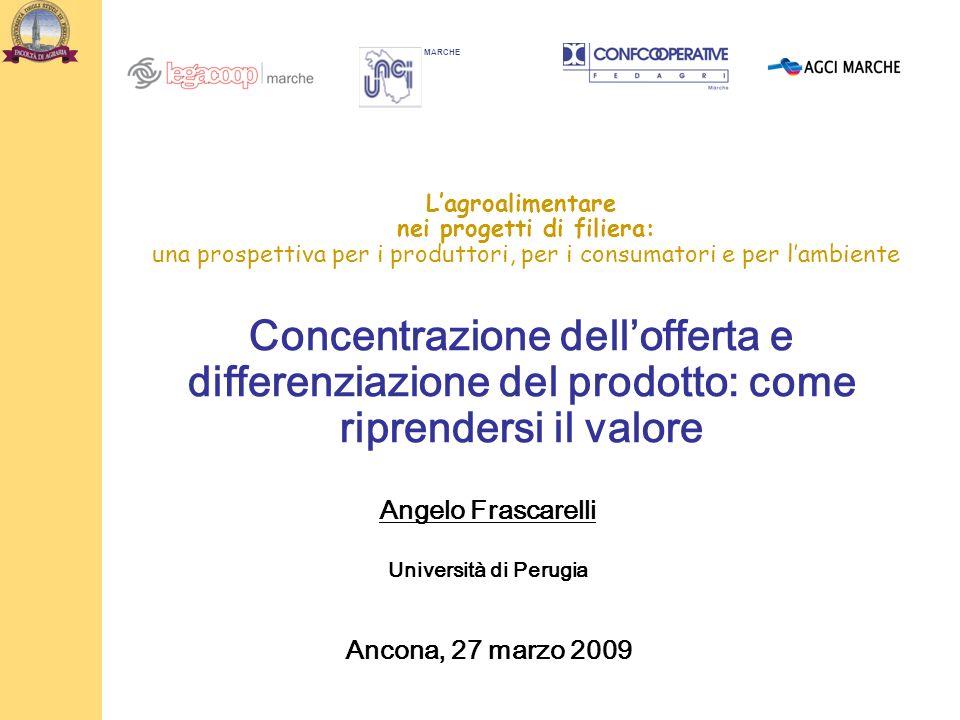 Angelo Frascarelli Ancona, 27 marzo 2009
