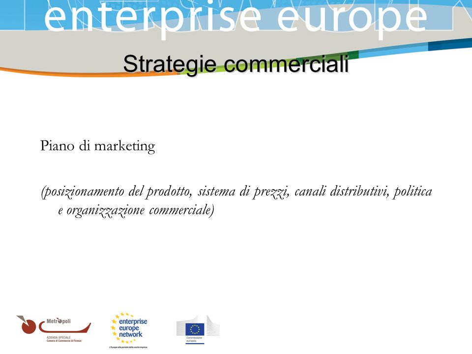 Strategie commerciali