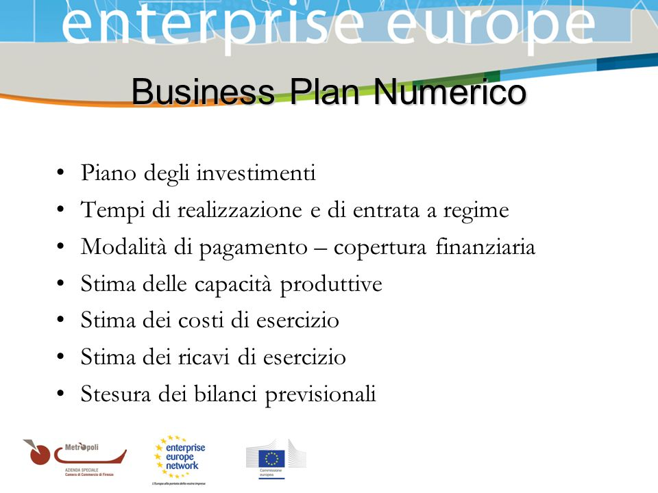 Business Plan Numerico