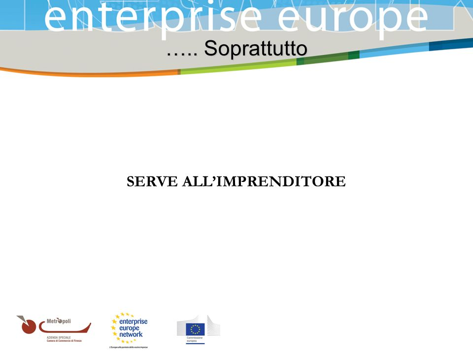 SERVE ALL'IMPRENDITORE