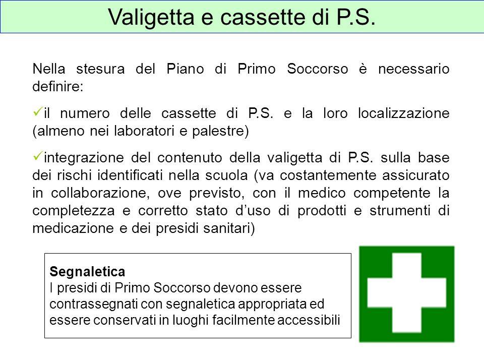 Valigetta e cassette di P.S.