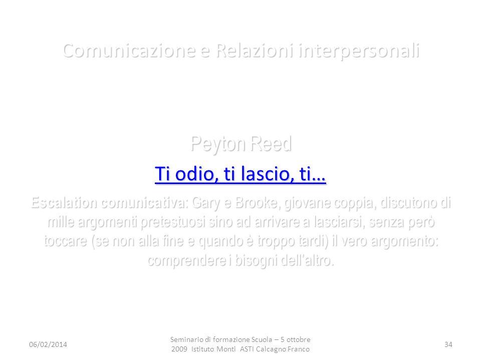 Comunicazione e Relazioni interpersonali