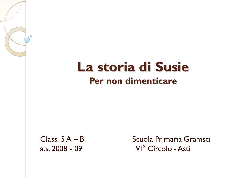 La storia di Susie Per non dimenticare