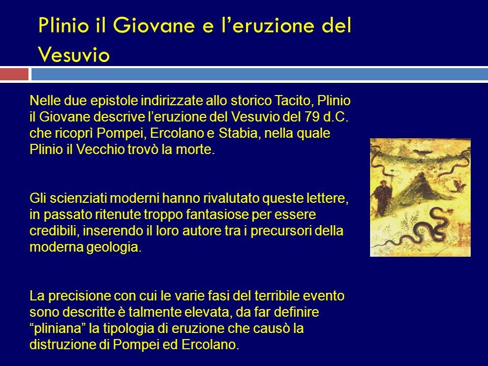 Plinio il Giovane e l'eruzione del Vesuvio