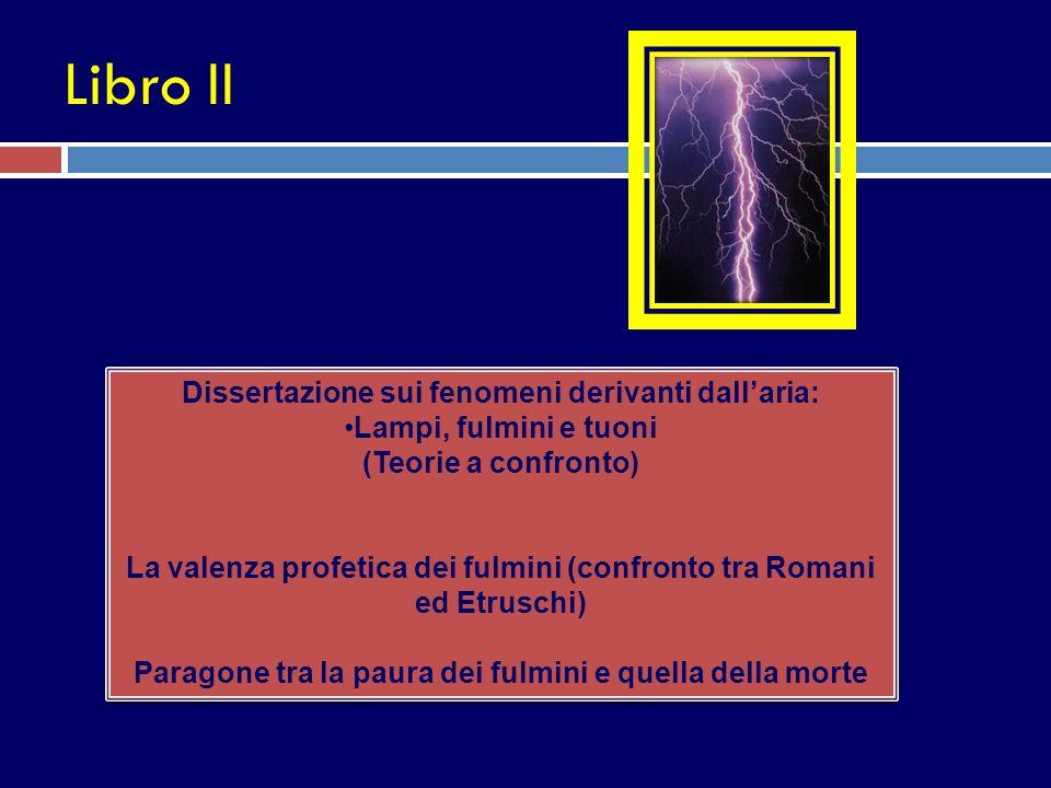 Libro II Dissertazione sui fenomeni derivanti dall'aria: