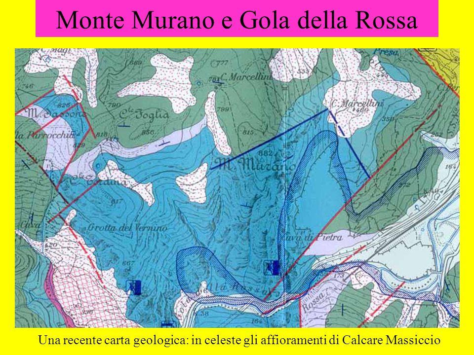 Monte Murano e Gola della Rossa