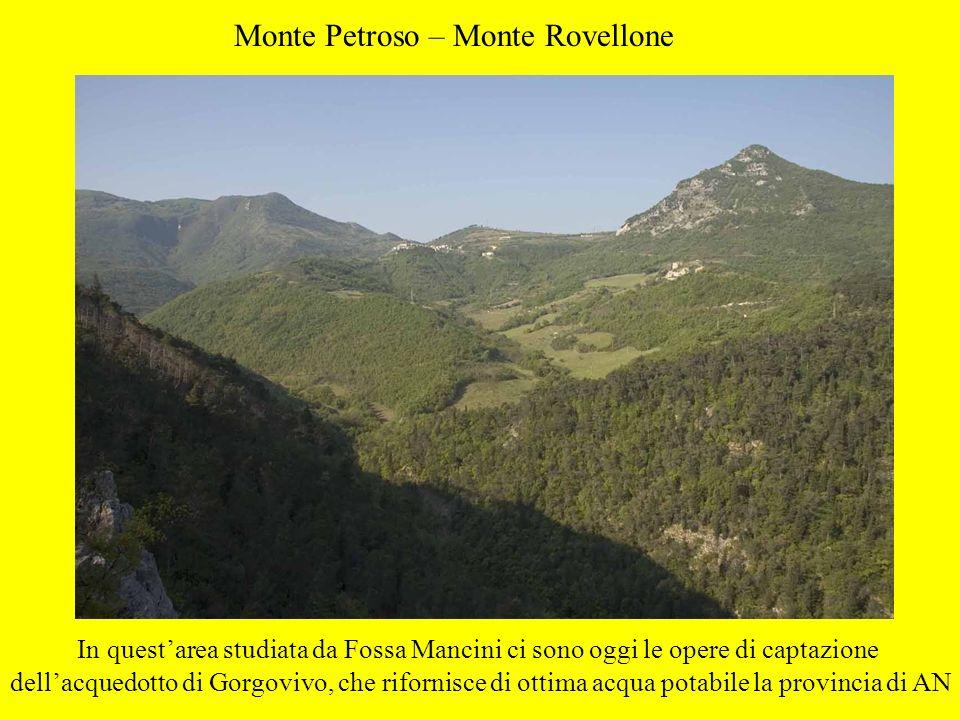 Monte Petroso – Monte Rovellone