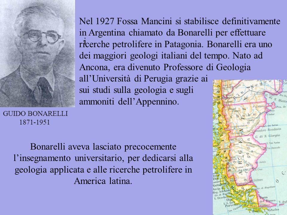 Nel 1927 Fossa Mancini si stabilisce definitivamente