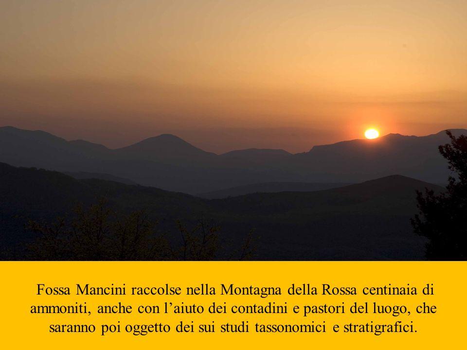 Fossa Mancini raccolse nella Montagna della Rossa centinaia di