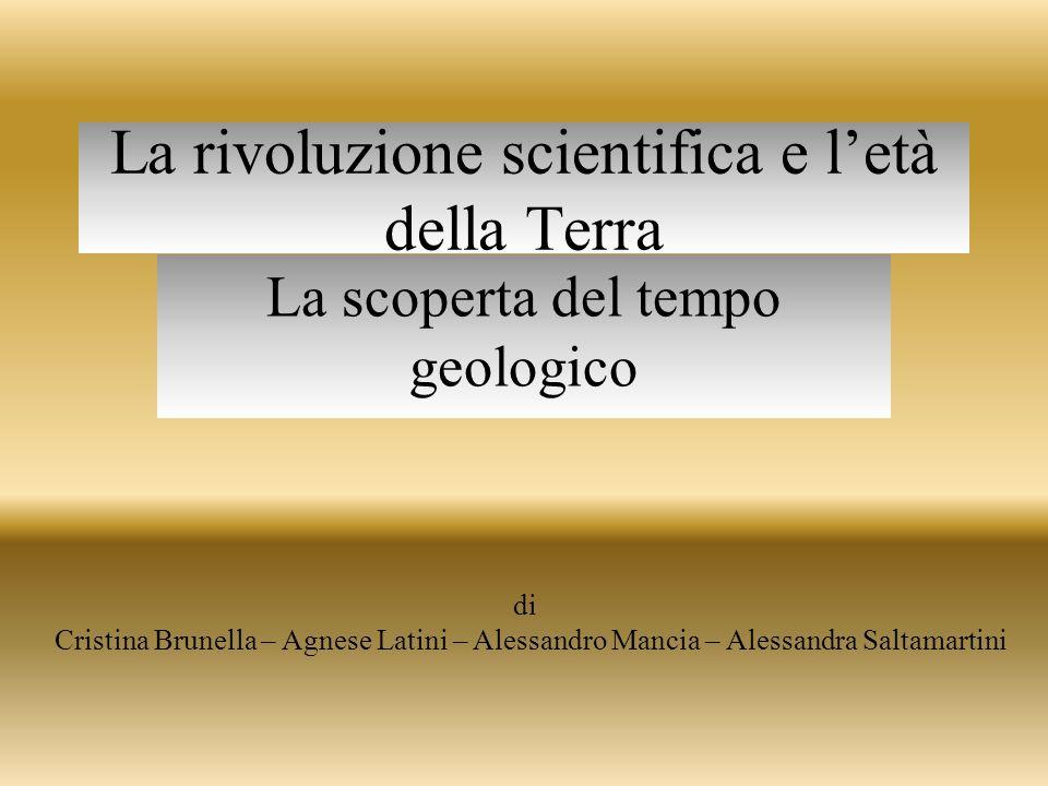 La rivoluzione scientifica e l'età della Terra