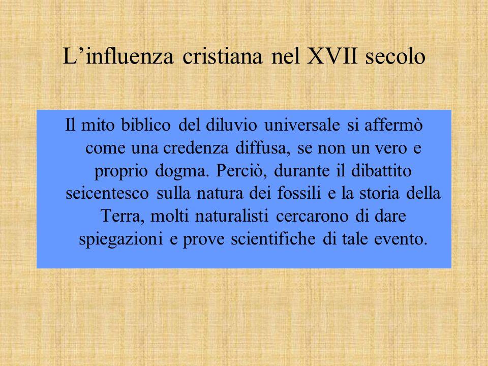 L'influenza cristiana nel XVII secolo