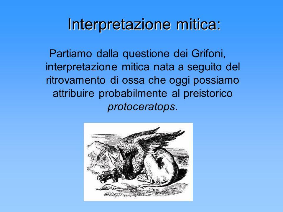 Interpretazione mitica: