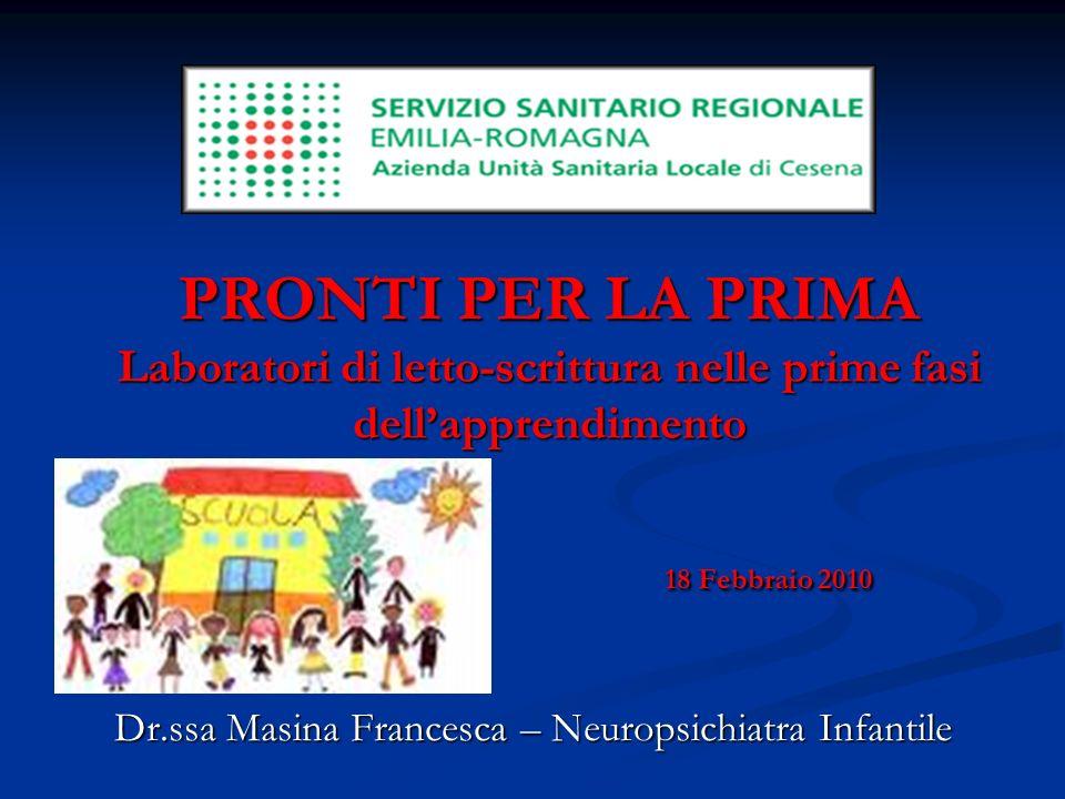Dr.ssa Masina Francesca – Neuropsichiatra Infantile