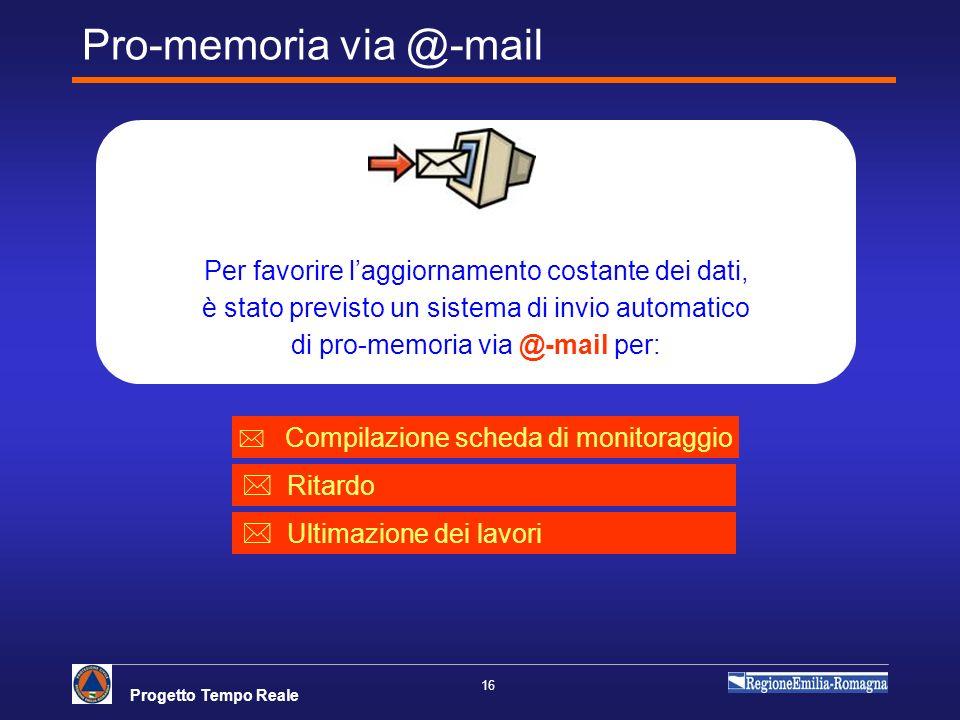 Pro-memoria via @-mail