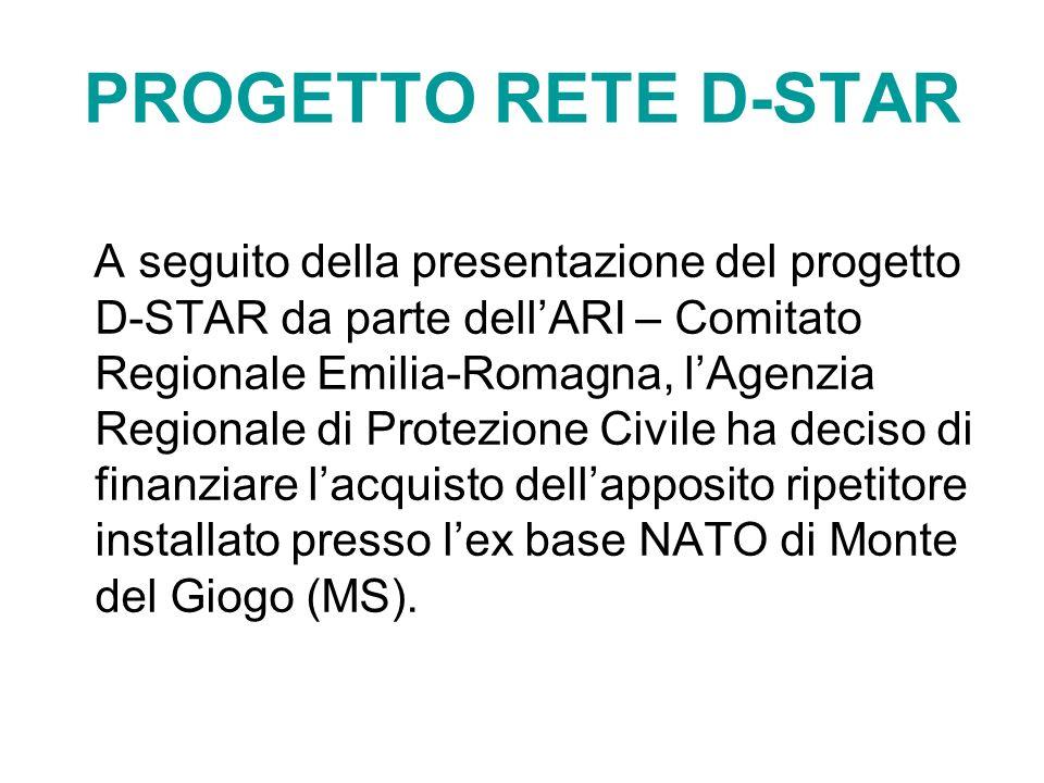 PROGETTO RETE D-STAR