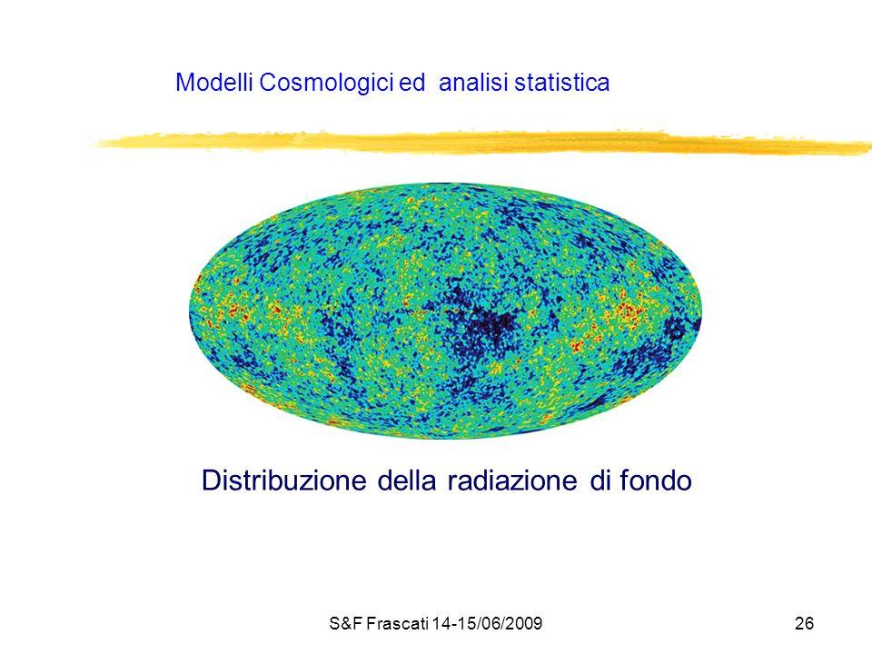 Modelli Cosmologici ed analisi statistica