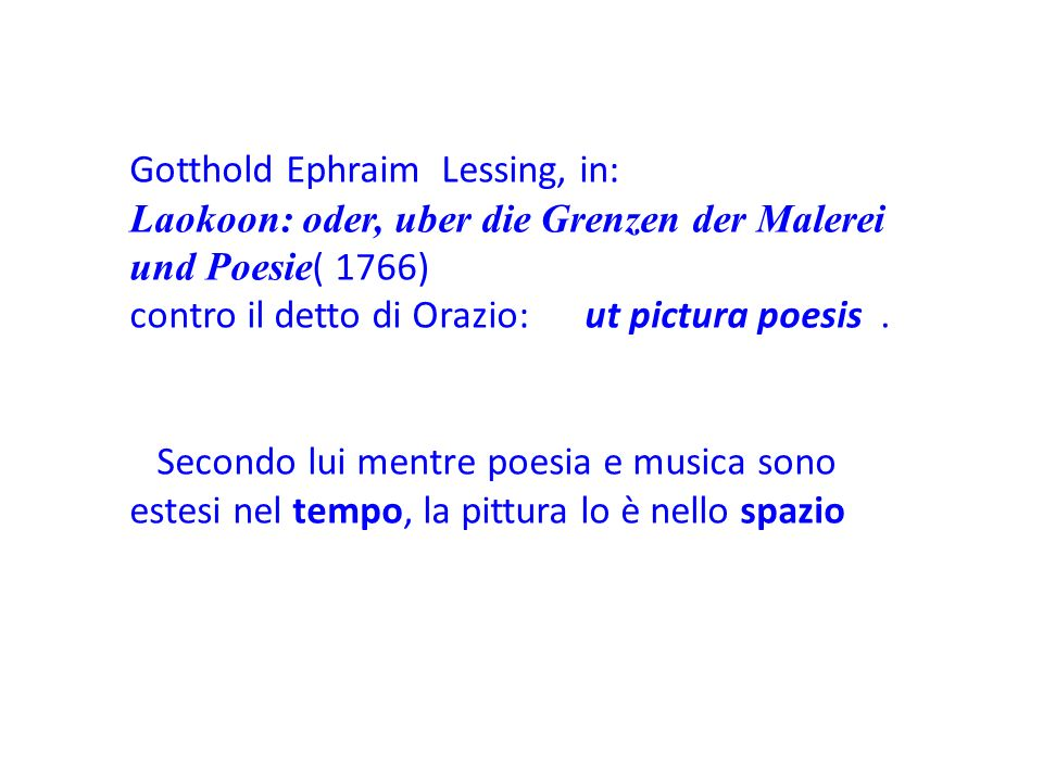 Gotthold Ephraim Lessing, in: