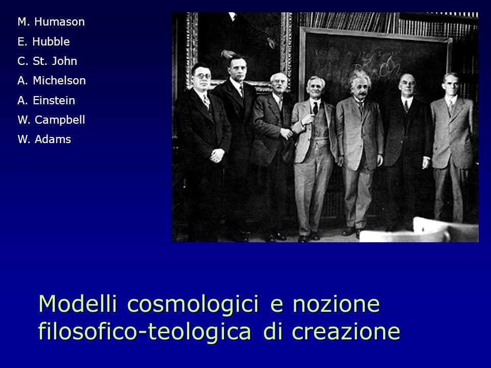 Modelli cosmologici e nozione filosofico-teologica di creazione