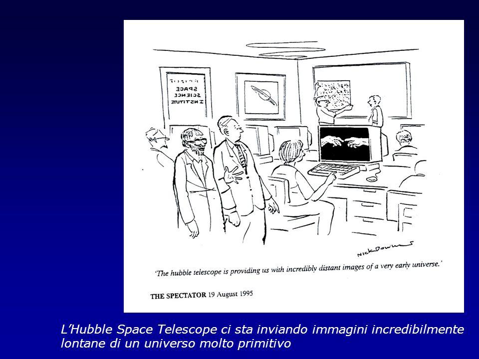 L'Hubble Space Telescope ci sta inviando immagini incredibilmente lontane di un universo molto primitivo