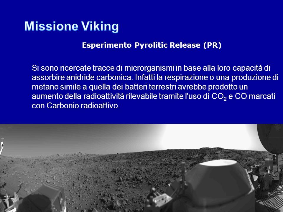 Esperimento Pyrolitic Release (PR)