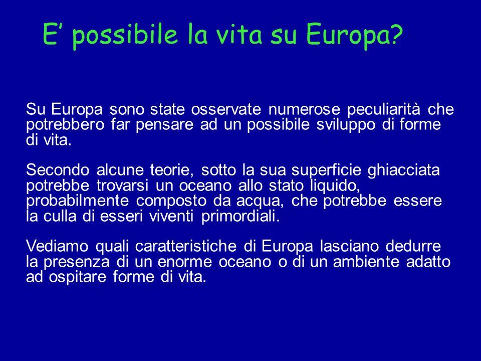 E' possibile la vita su Europa