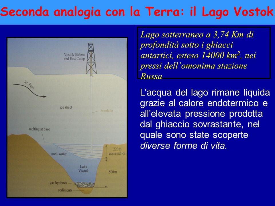 Seconda analogia con la Terra: il Lago Vostok