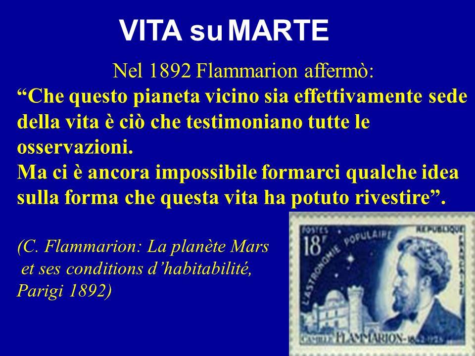 Nel 1892 Flammarion affermò:
