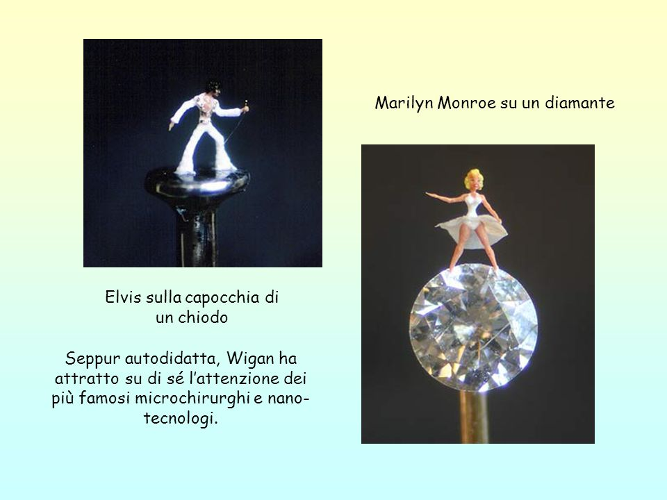Marilyn Monroe su un diamante
