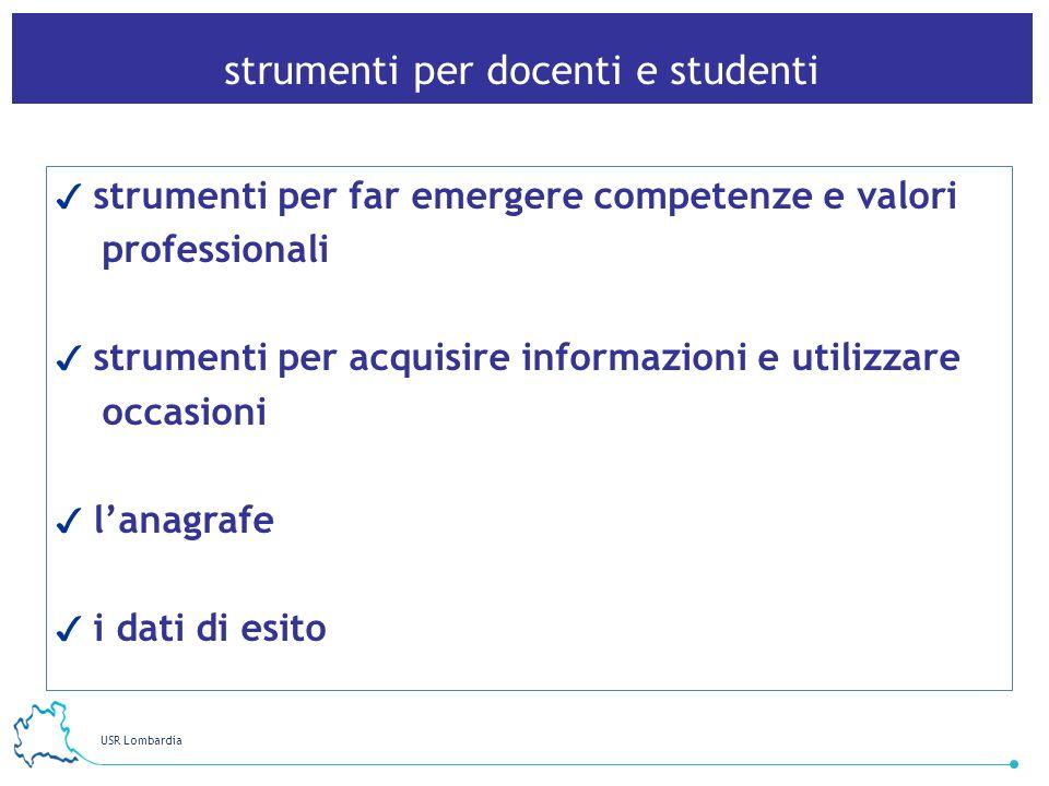 strumenti per docenti e studenti